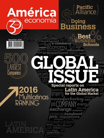 Global Issue 2016 by AméricaEconomía - issuu
