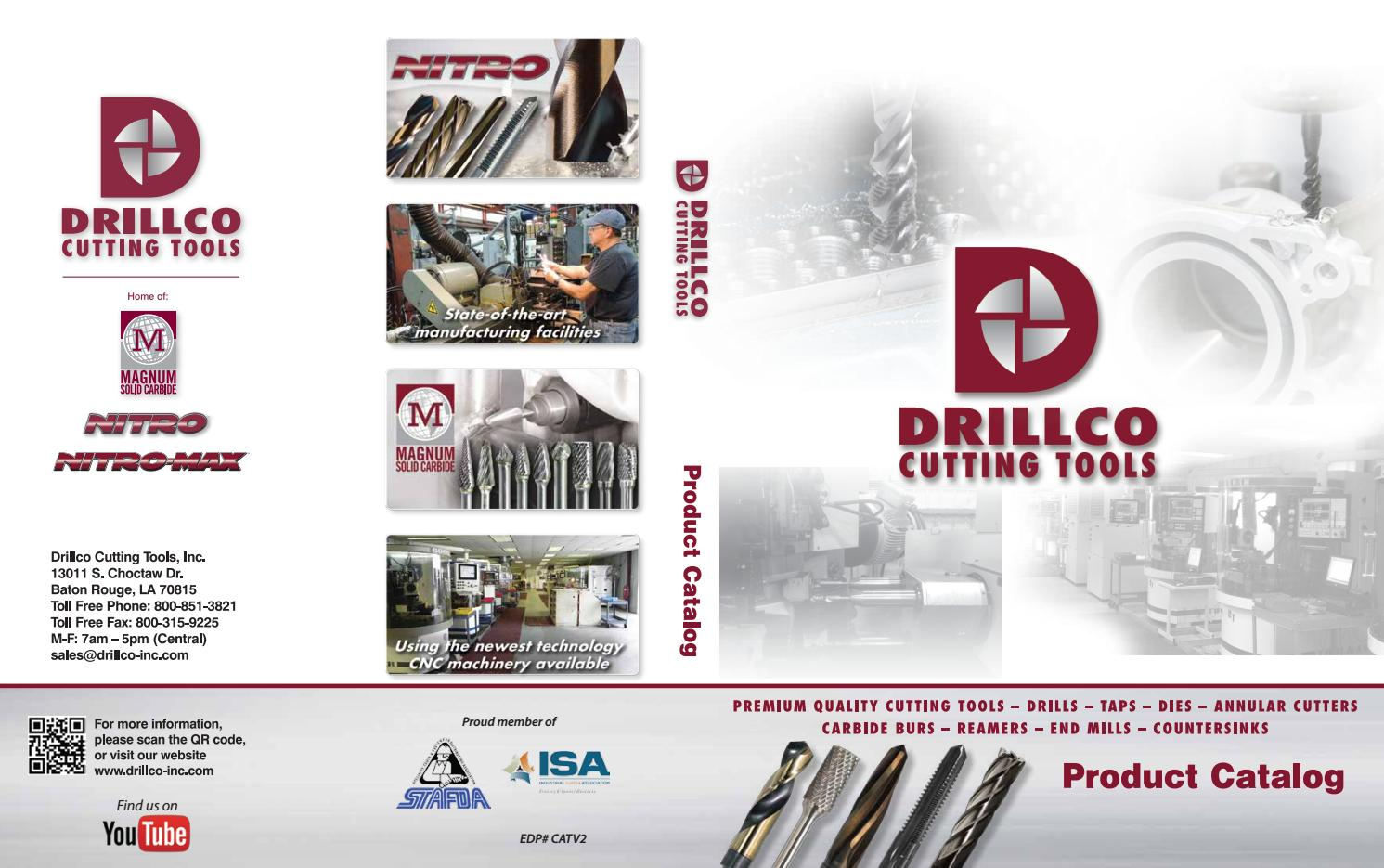 Drillco Cutting Tools - 12 Pack Stuby Drill 300A107 7//64