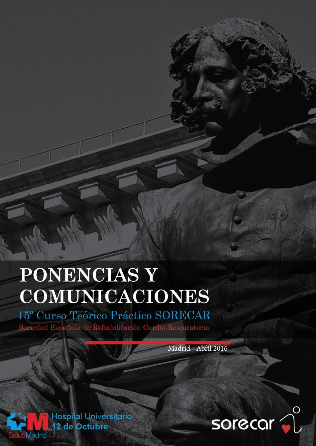 Libro de Ponencias y Comunicaciones 2016 by Sociedad Española de ...