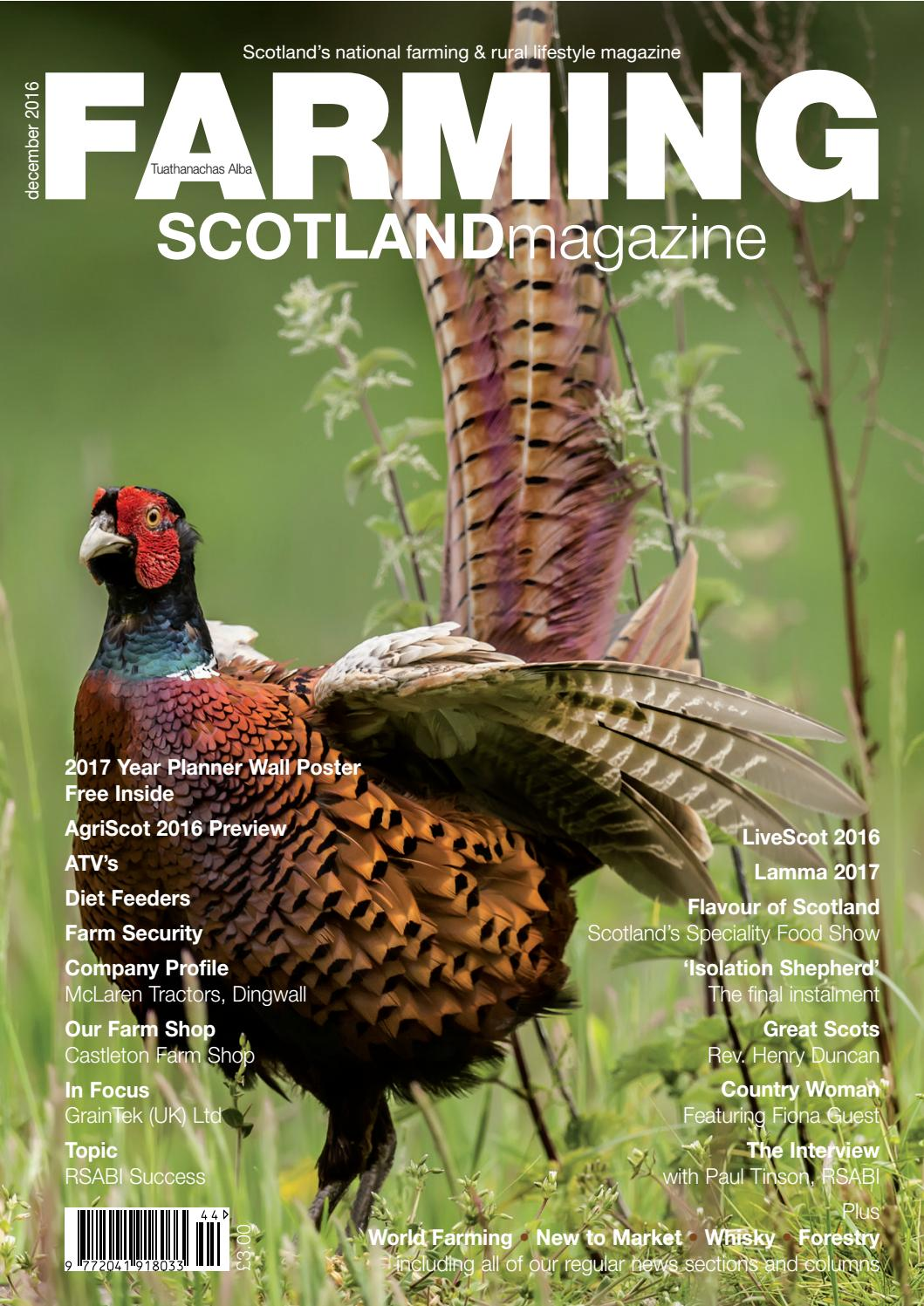Farming Scotland Magazine November December 2016 By Athole April 14 2009 Circuitmaster 15 Comments Design Publishing Ltd Issuu