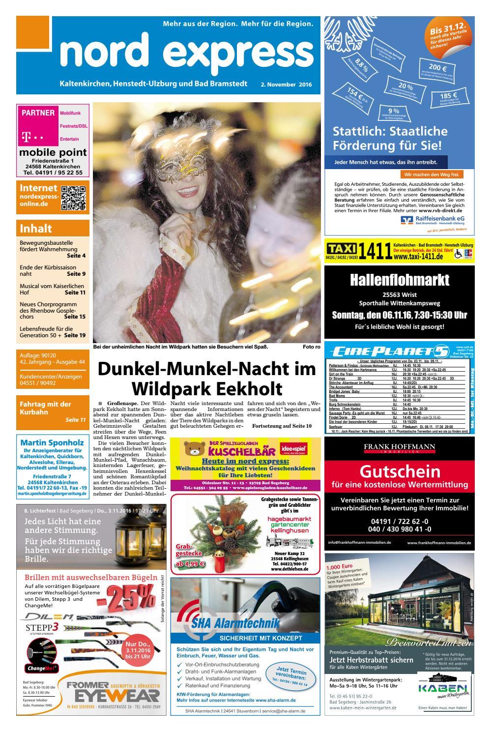 nord express Westen by nordexpress-online.de - issuu