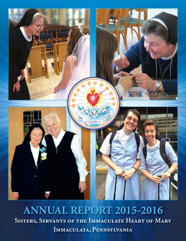 Sisters Servants Of The Immaculate Heart Of Mary By