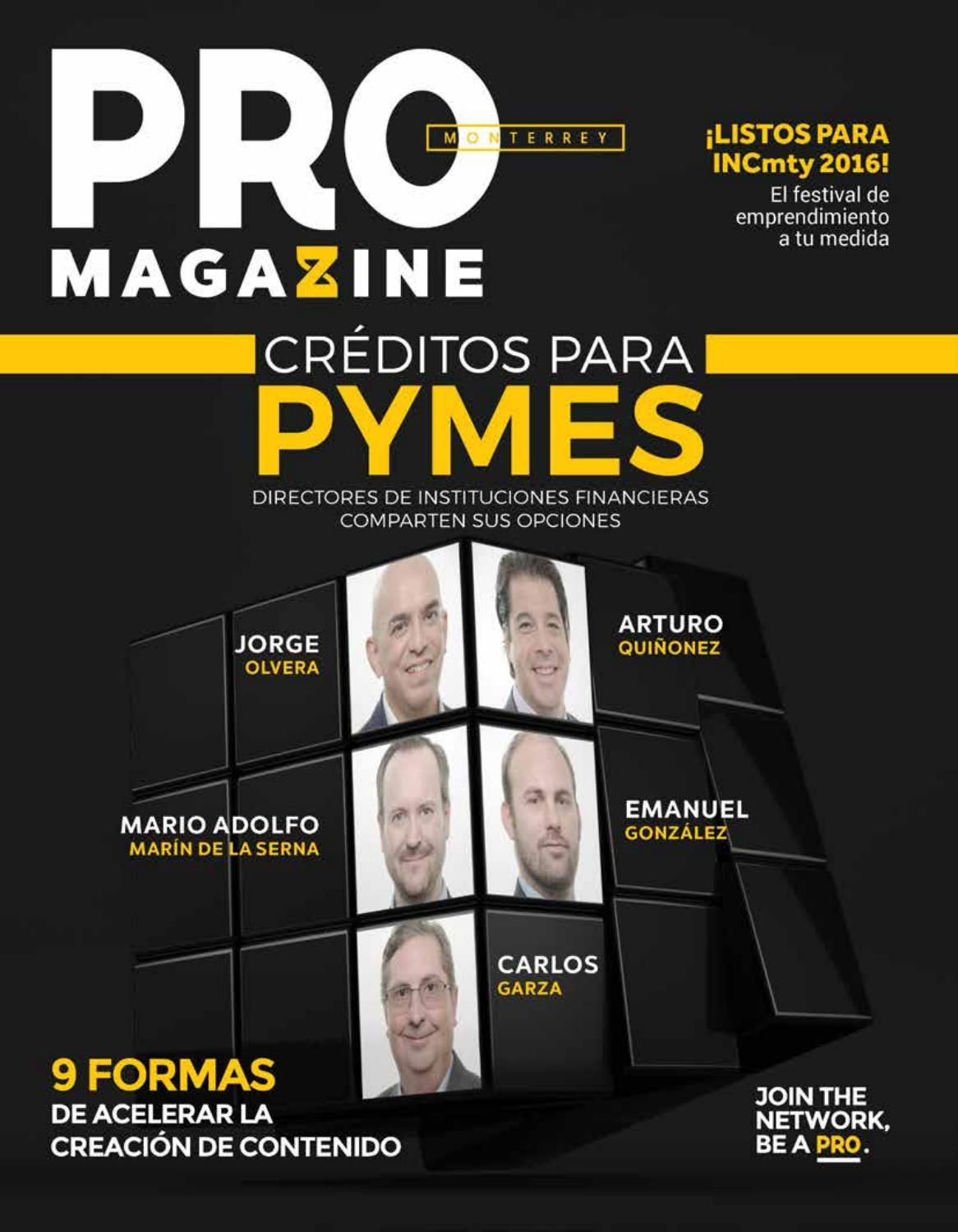 PRO Magazine Monterrey Edición #28 by PRO Magazine - issuu