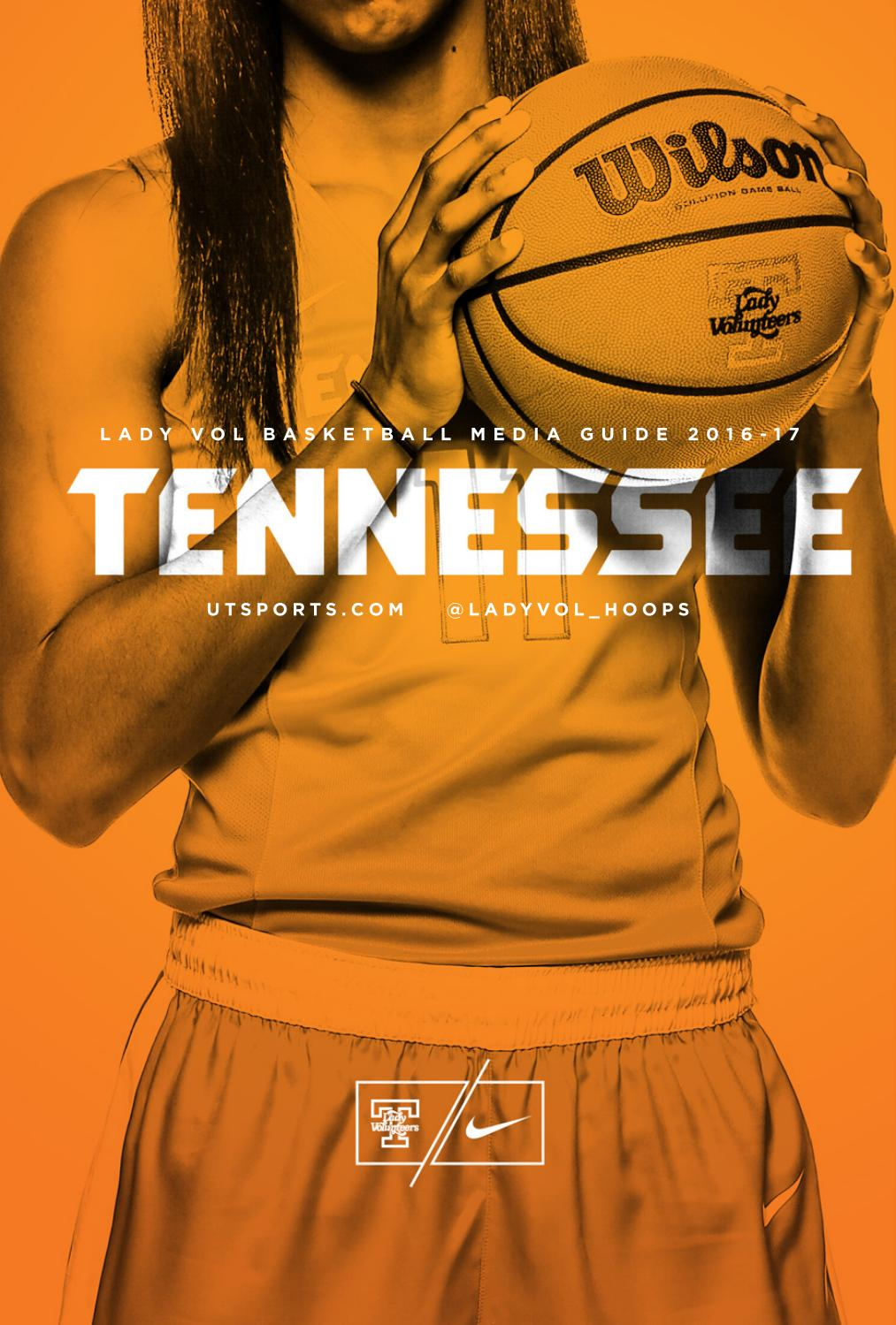 610ba99843417 2016-17 Lady Vol Basketball Media Guide by The University of ...