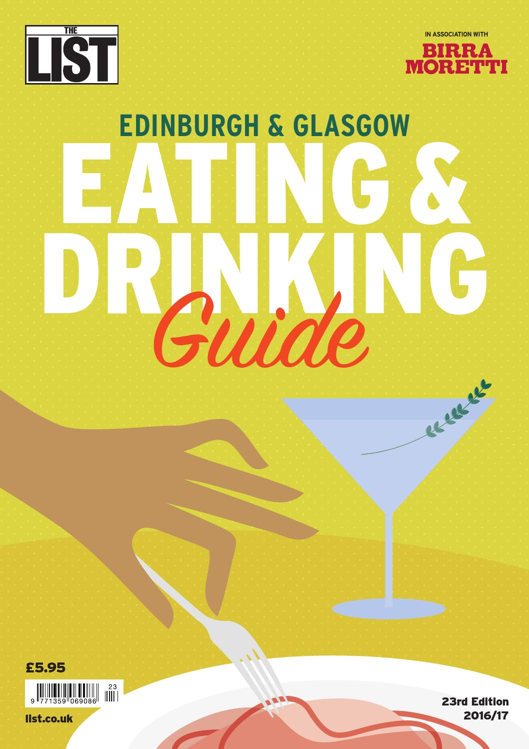 The List Eating Drinking Guide 2016 By The List Ltd Issuu