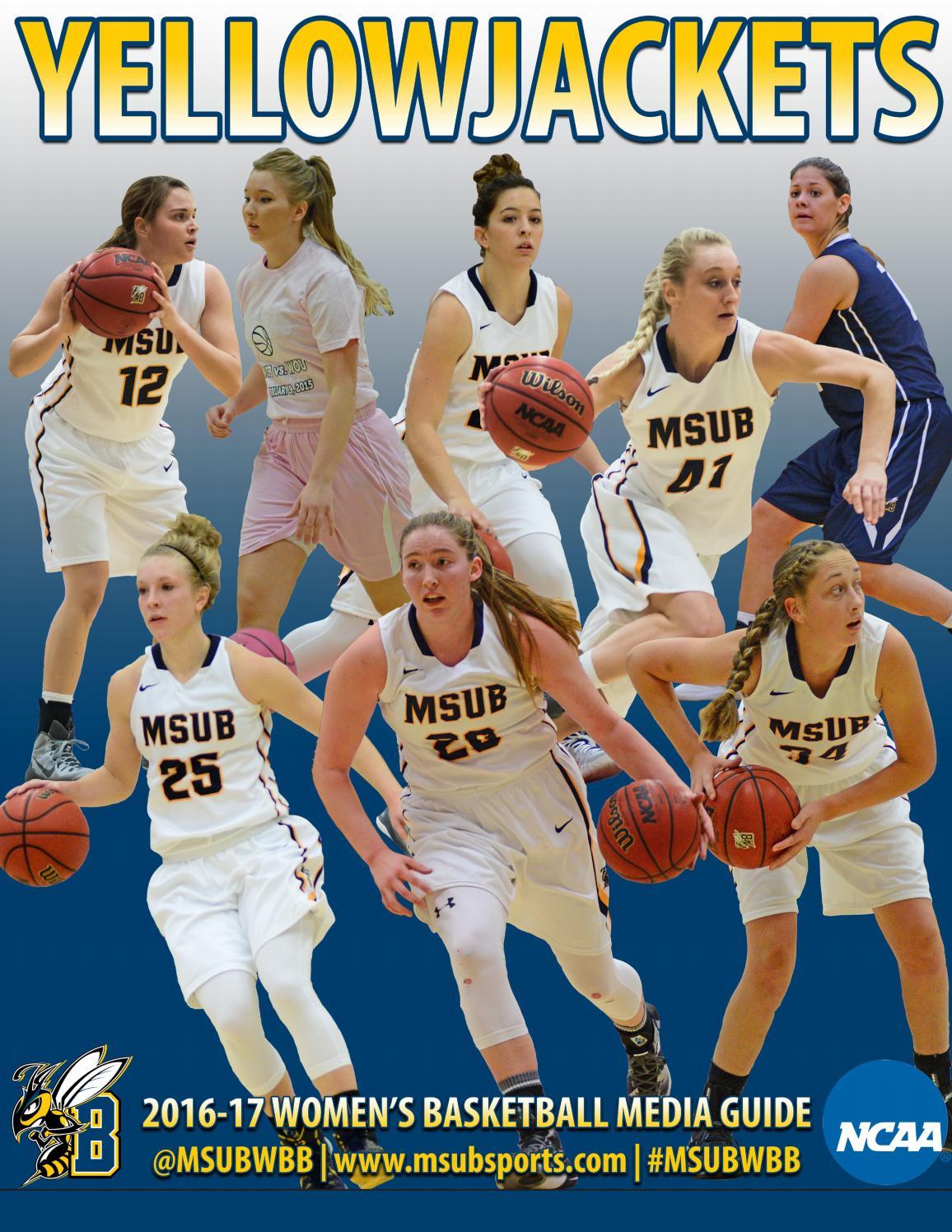 2016 17 msub women u0027s basketball media guide by msub sports issuu