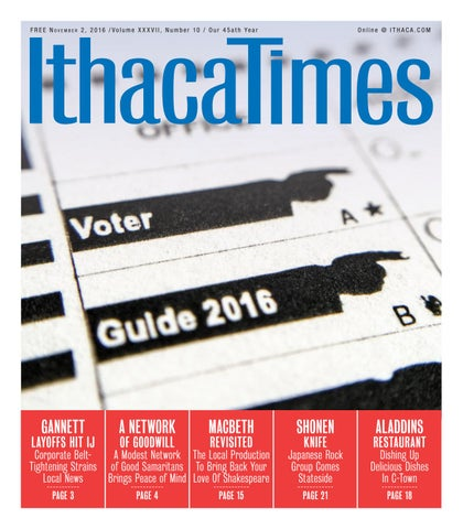 d35e10fc November 2, 2016 by Ithaca Times - issuu
