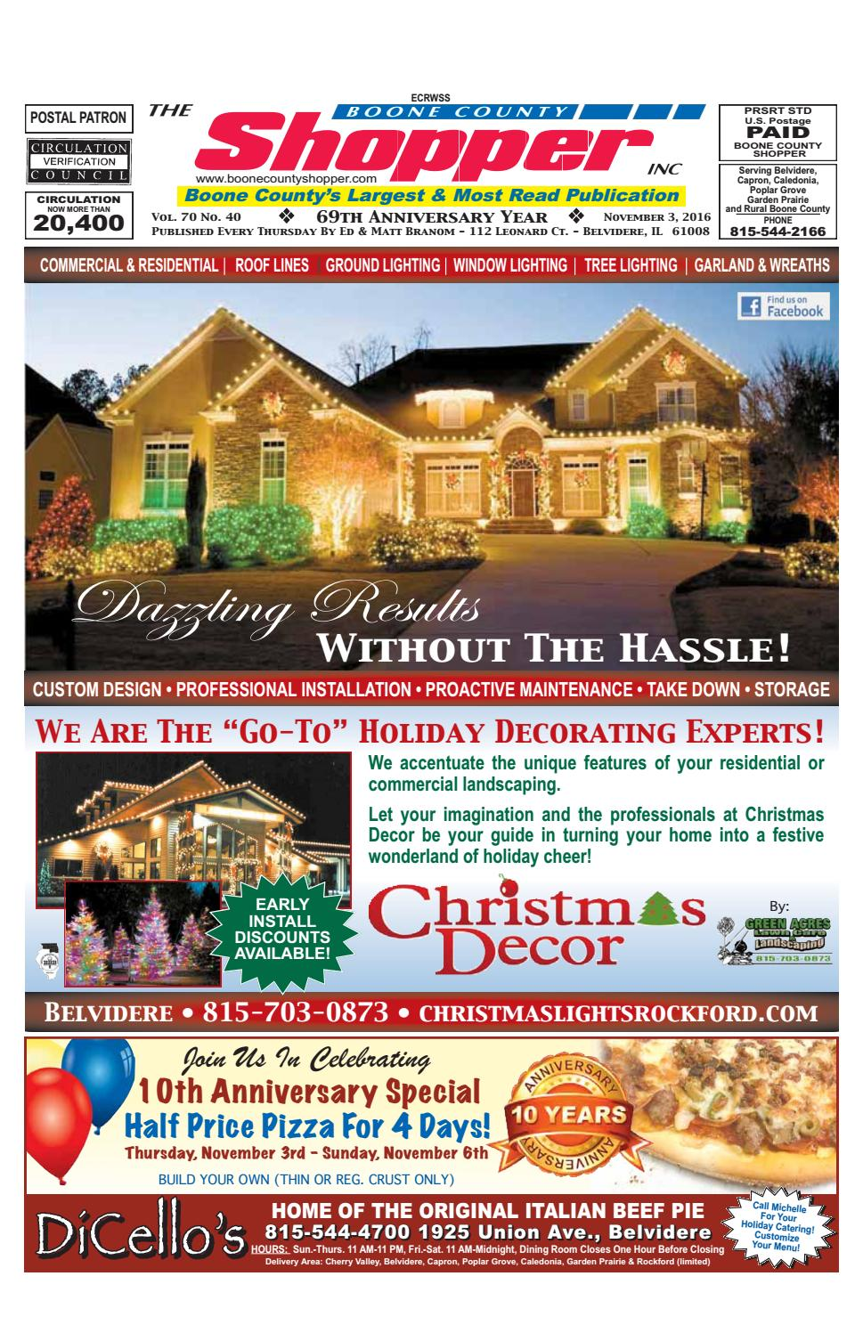 Boone County Shopper November 3 2016 By Issuu 0800 Handyman Changing A Light Fitting Wiring