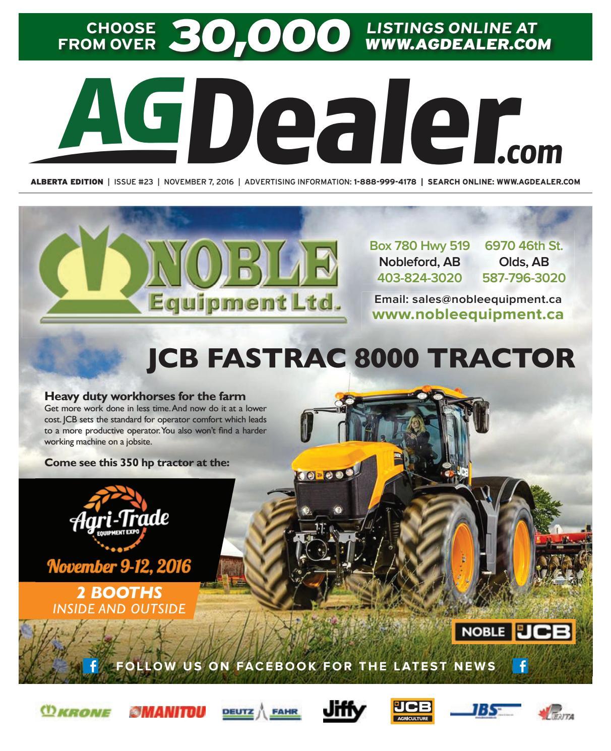 Wheel Amp Deal Alberta November 7 2016 By Farm Business Communications Issuu