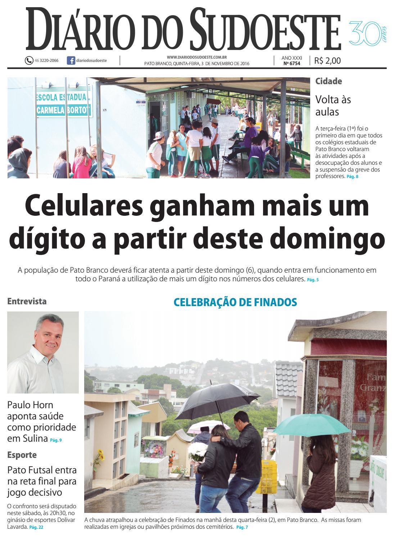 Diário do sudoeste 03 de novembro de 2016 ed 6754 by Diário do Sudoeste -  issuu b4bf45ce357