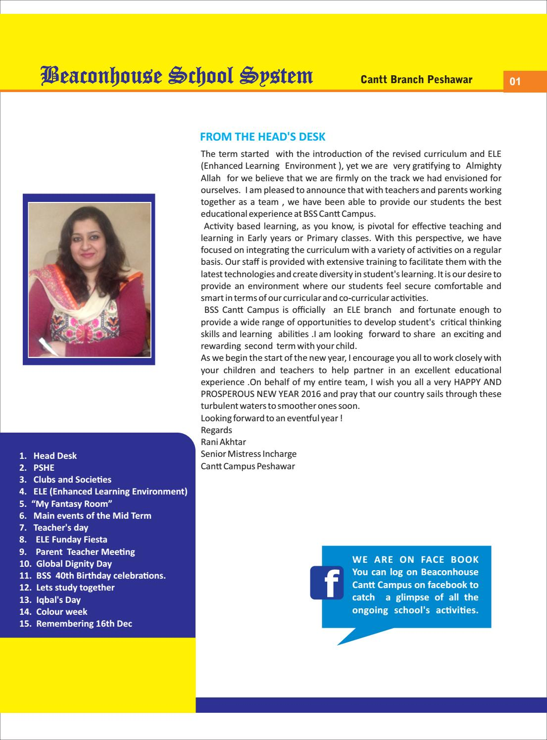 News Letter 2015 16 First Term By Beaconhouse Issuu