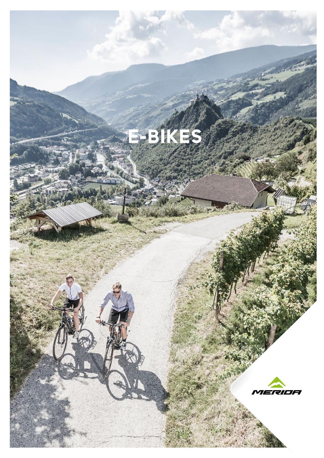 Merida E Bikes 2017 By Merida Benelux Issuu