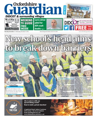 03 November 2016 Guardian Didcot By Taylor Newspapers