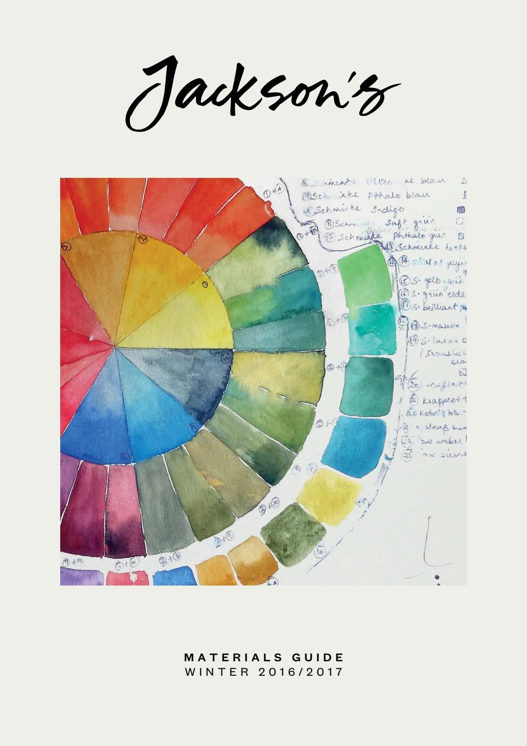 7207cd0b1ac Jackson s - Materials Guide - Winter 2016 by Jackson s Art Supplies ...