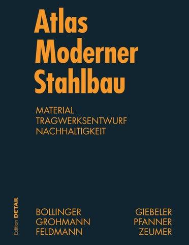 Atlas Moderner Stahlbau by DETAIL - issuu
