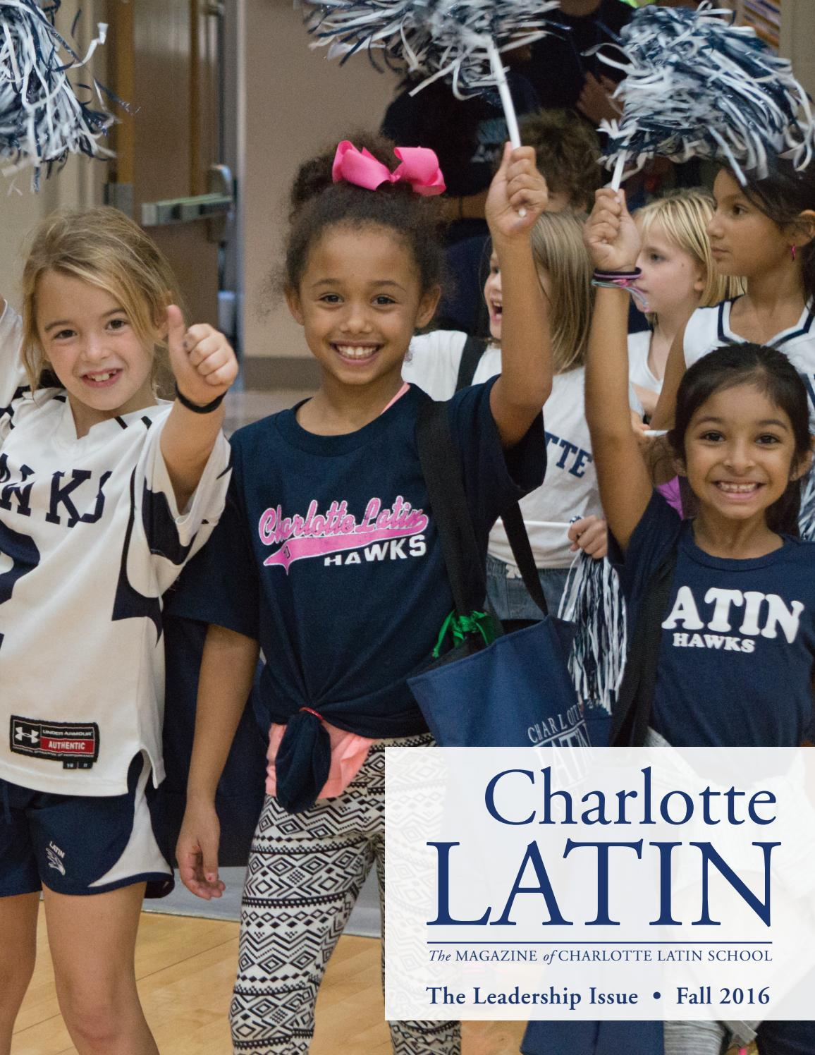Charlotte Latin Magazine October 2016 By School Catriona Beth Backpack Brown Issuu