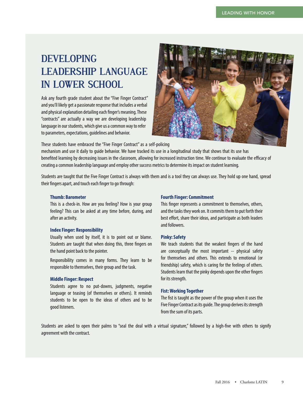 Charlotte Latin Magazine October 2016 By Charlotte Latin School