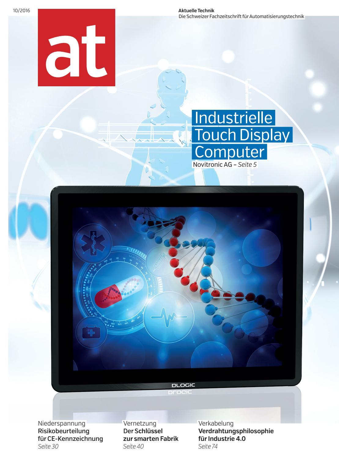 at - Aktuelle Technik 10 2016 by BL Verlag AG - issuu