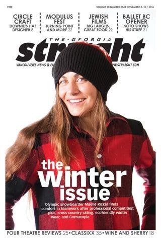 41c5337936b The Georgia Straight - The Winter Issue- Nov 3