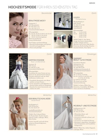 Swiss Wedding 03 2016 By Bl Verlag Ag Issuu