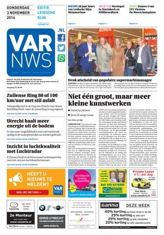 VARnws Leidsche Rijn 3 november 2016 by VARnws - issuu