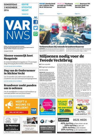 VARnws Stichtse Vecht 3 november 2016 by VARnws - issuu