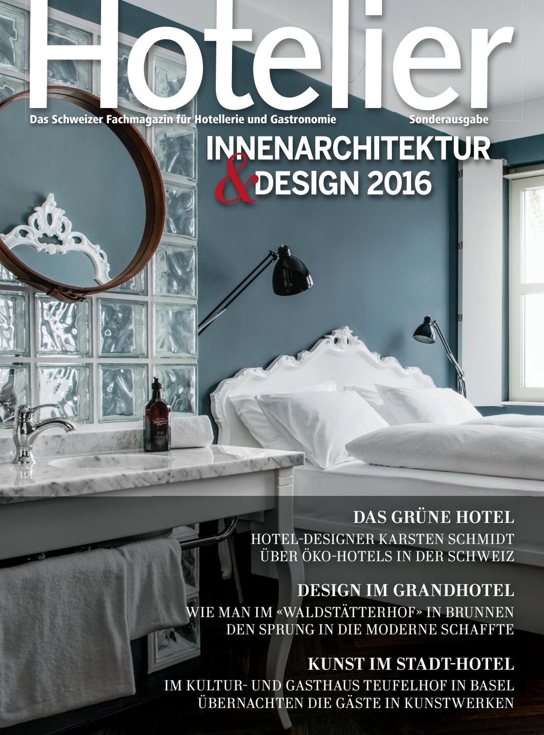 Hotelier Innenarchitektur&Design 2016 by BL Verlag AG - issuu