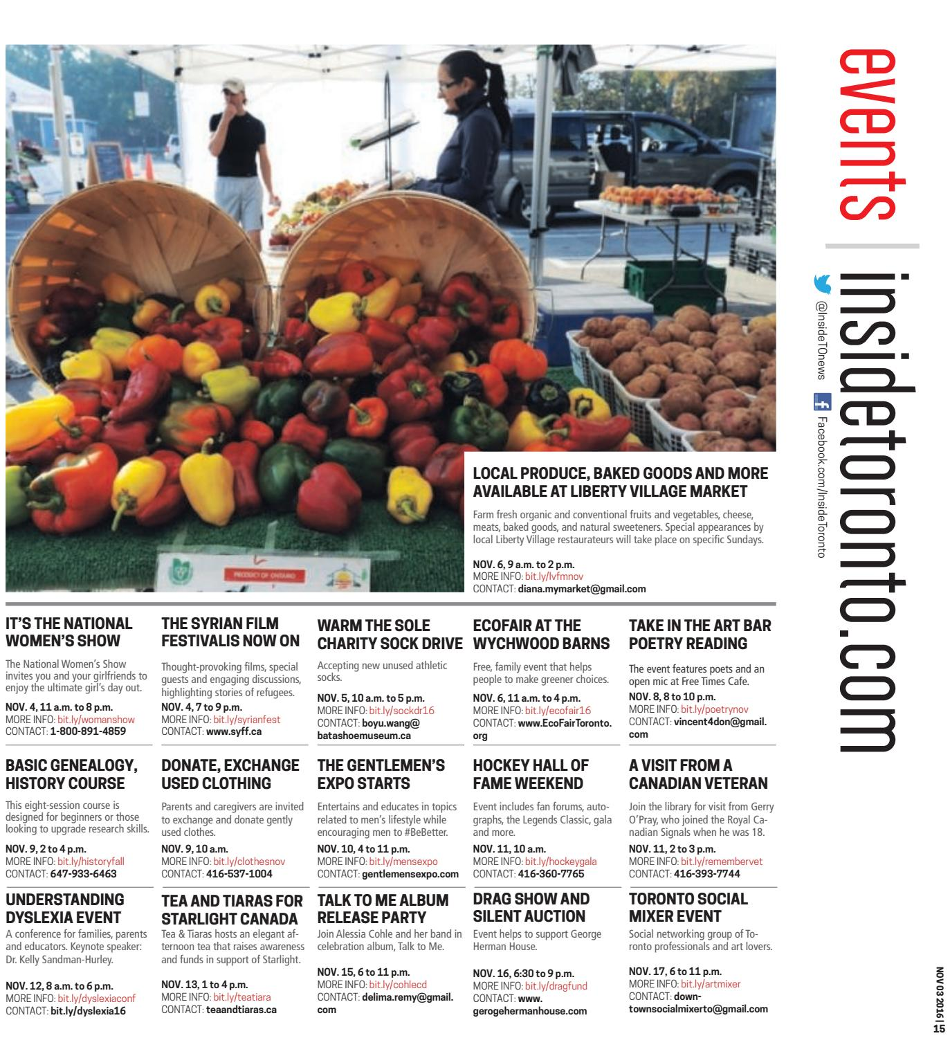 The Parkdale Villager, November 3, 2016 by The Parkdale