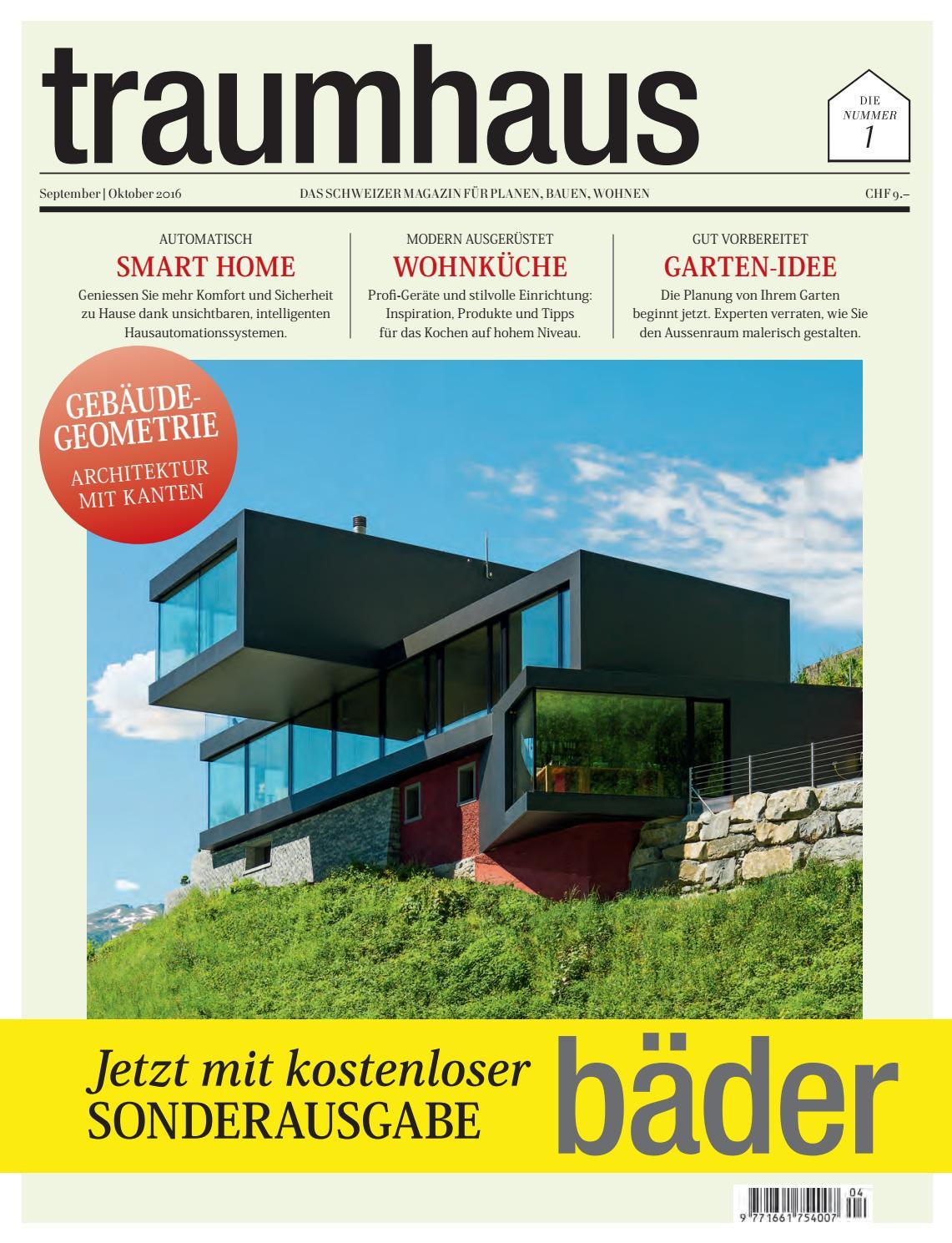 weinkeller bauen modern gestalten, traumhaus 04 2016 by bl verlag ag - issuu, Design ideen