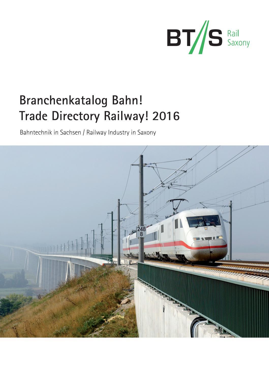 Branchenkatalog Bahn! 2016 by BTS Rail Saxony - issuu