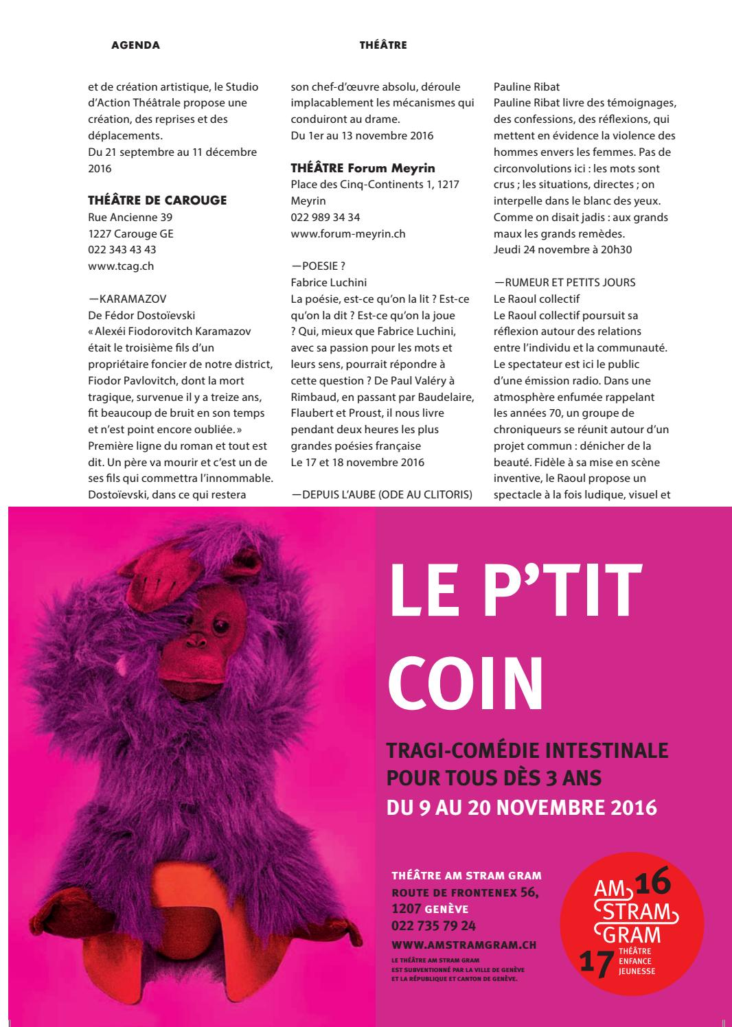 Go Out N46 Novembre 2016 By Go Out Magazine Issuu