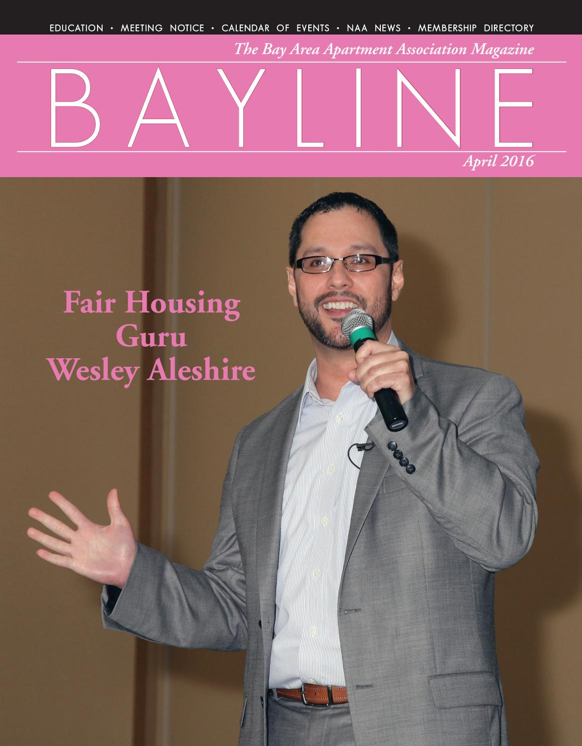 Bayline April 2016 by Bay Area Apartment Association - issuu