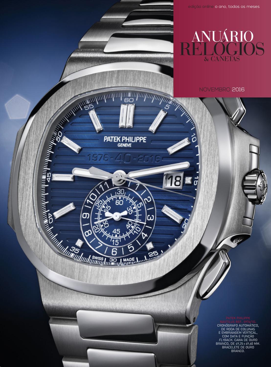 de6efc34142 Anuário Relógios   Canetas - Novembro 2016 by Anuário Relógios   Canetas -  issuu