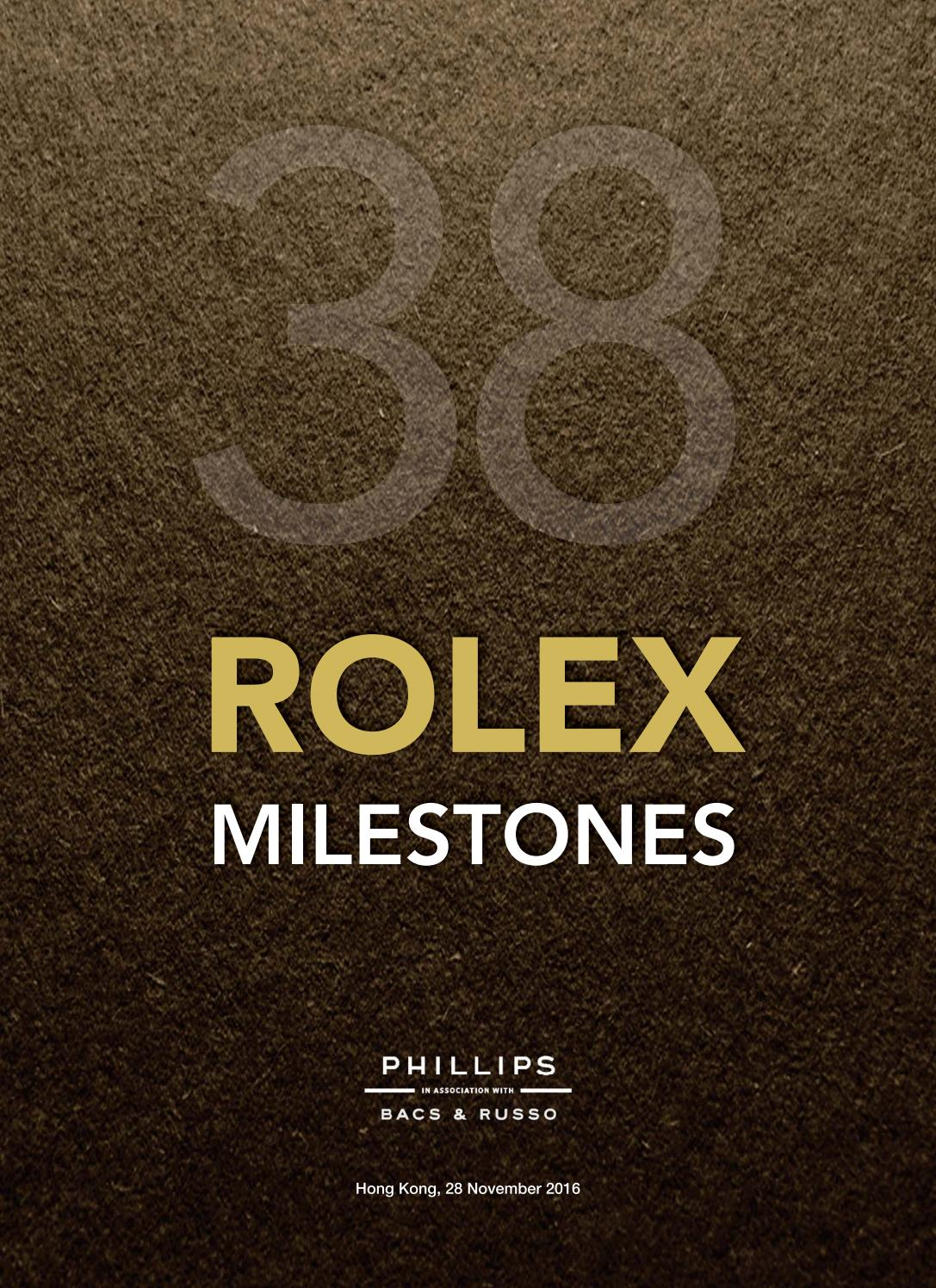 Rolex milestones 38 legendary watches that shaped history rolex milestones 38 legendary watches that shaped history catalogue by phillips issuu biocorpaavc Choice Image