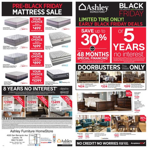 Pre-Black Friday Event by Ashley Furniture HomeStore of ...