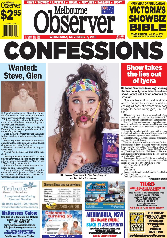 78534ed120 Melbourne Observer. November 2