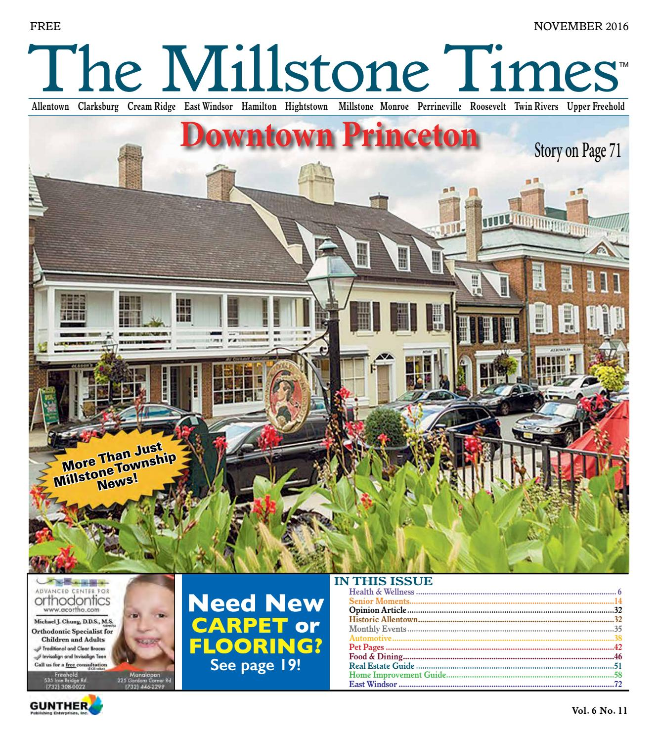 The Millstone Times November 2016 by Gunther Publications