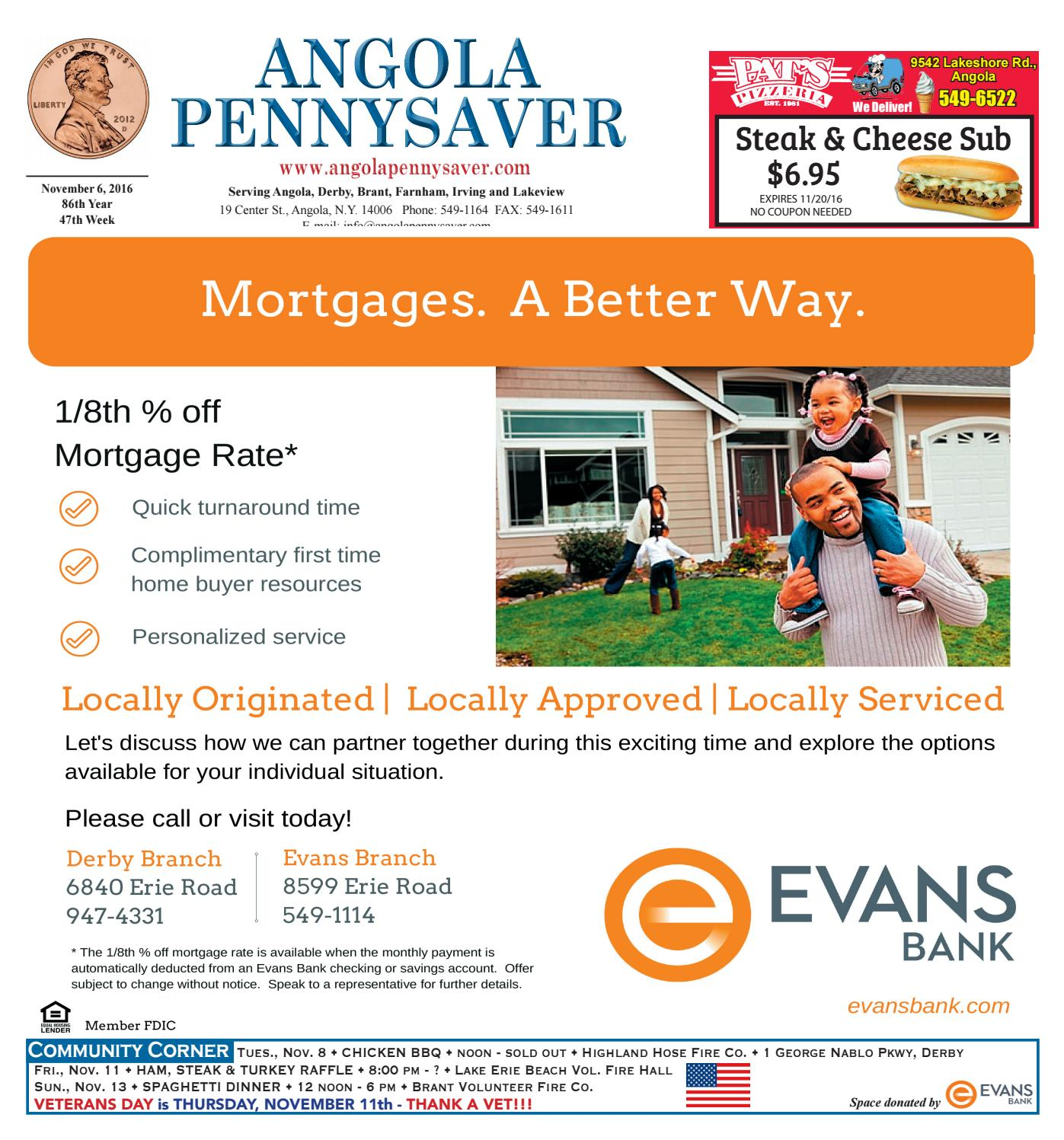 Angola Pennysaver 11 6 16 By Angola Pennysaver Issuu