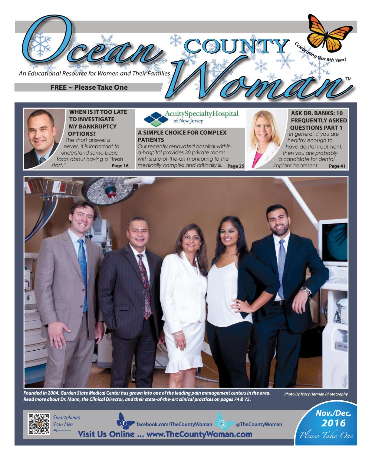 Ocean County Woman 2016 November December By The County Woman Issuu