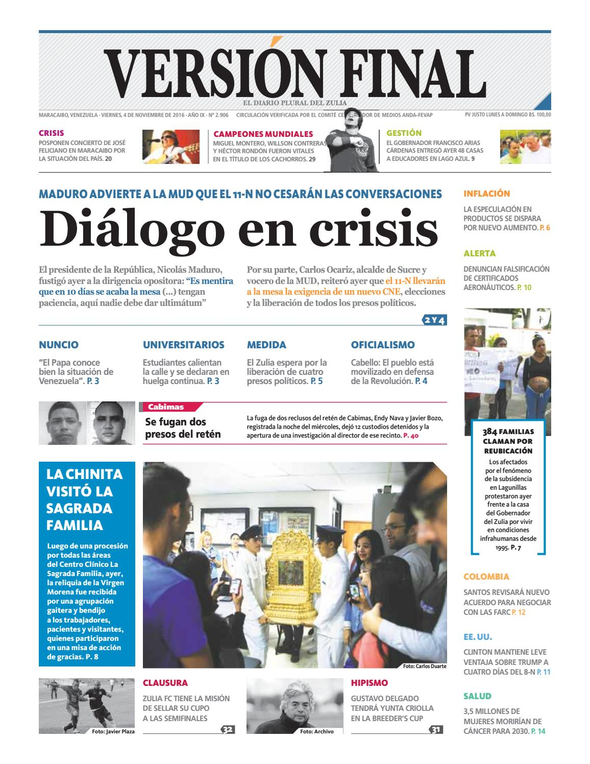 1e8eaa45 Diario Versión Final by Diario Versión Final - issuu