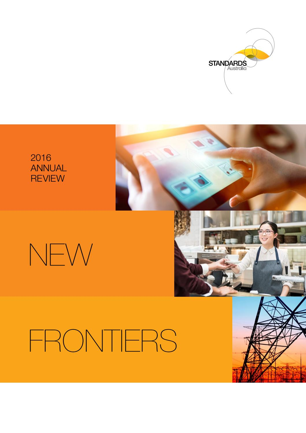 Standards Australia 2016 Annual Review By Issuu Australian Wiring Regulations