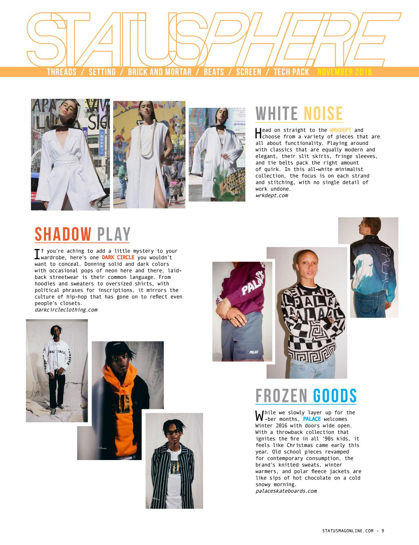 Status Magazine November 2016 Feat Shameik Moore By Status Magazine Issuu