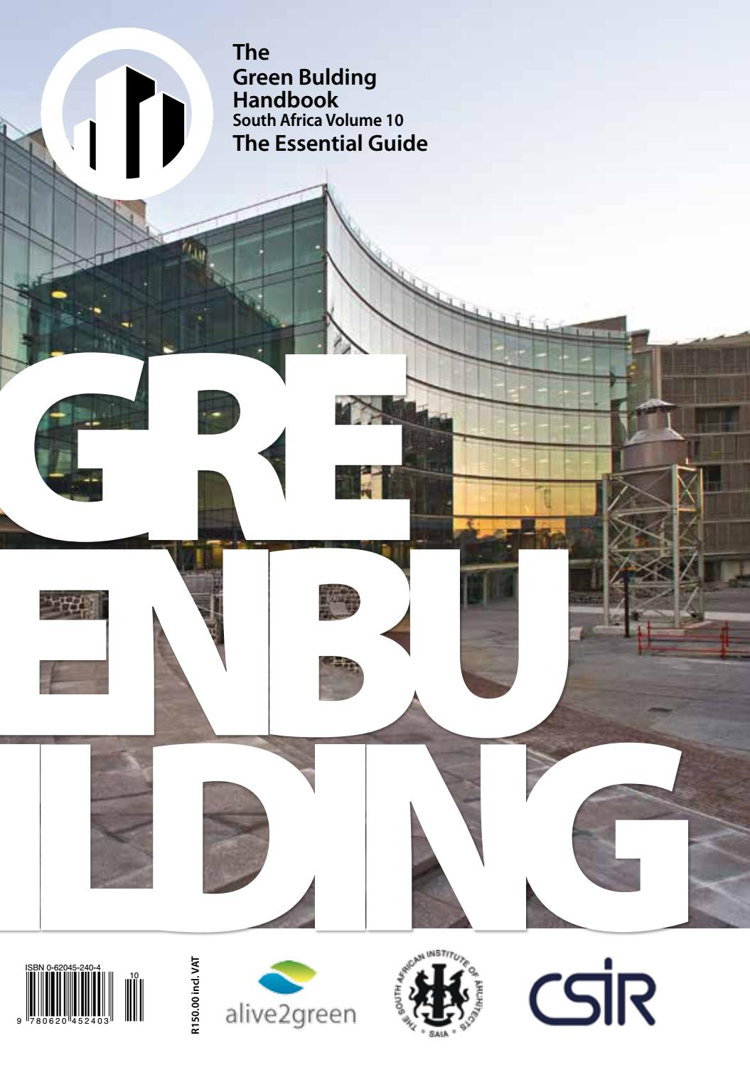 Green Building Handbook Vol 10 by Alive2Green - issuu