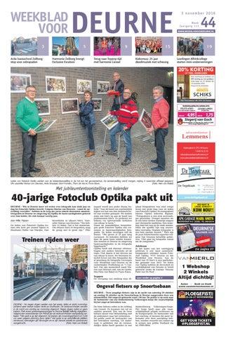 Weekblad Voor Deurne Wk44 By Das Publishers Issuu