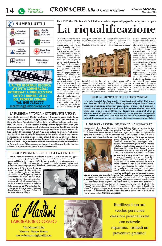 L'altro Giornale Valpolicella Novembre 2016 by IsCharlie issuu