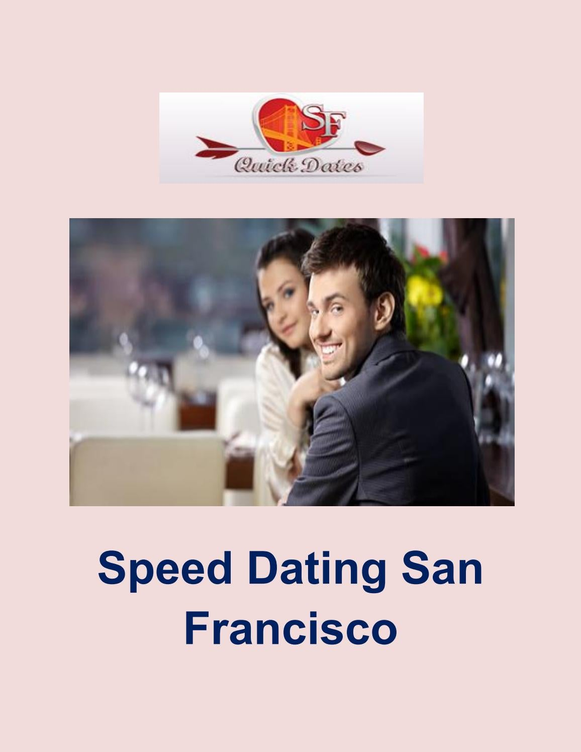 Sf speed dating događaji