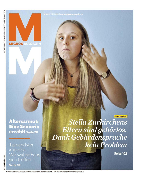 Migros magazin 45 2016 d aa by Migros-Genossenschafts-Bund - issuu