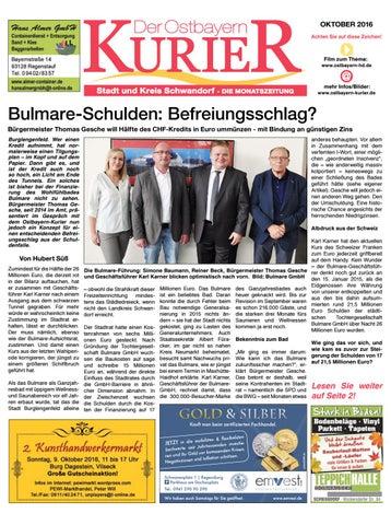 Nord Ostbayern Kurier Oktober 2016 By Medienverlag Hubert Suss Issuu