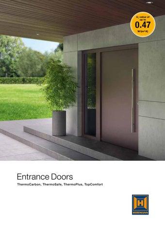 86 772 Aluminium Entrance Door Brochure En By Mansfield