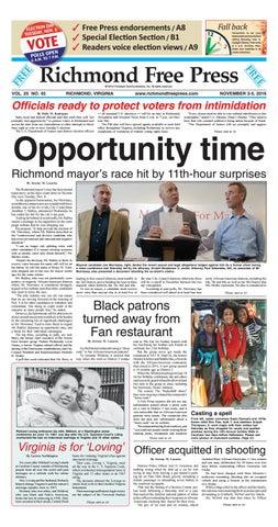 November 3 5 2016 Issue By Richmond Free Press Issuu